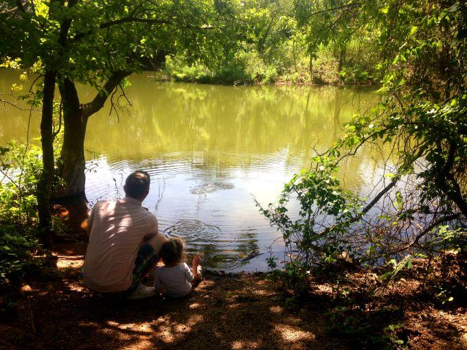 Martin Park Nature Center.  Family Dates in Oklahoma City