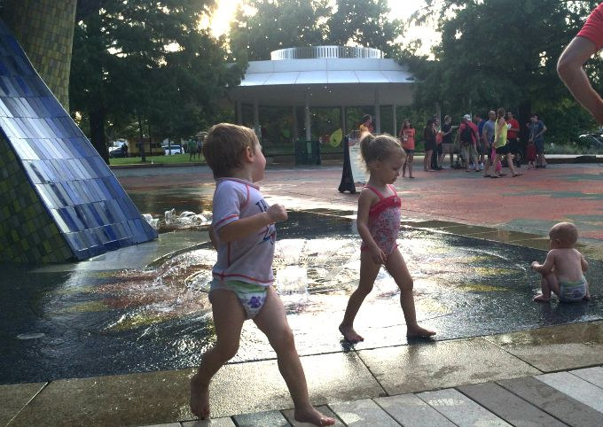 Family Fun Dates in Oklahoma City - The Myriad Gardens