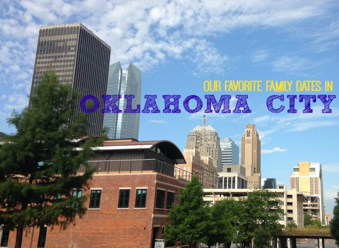 Our favorite family dates in Oklahoma City.  Places to take your family and enjoy all that Oklahoma City has to offer.